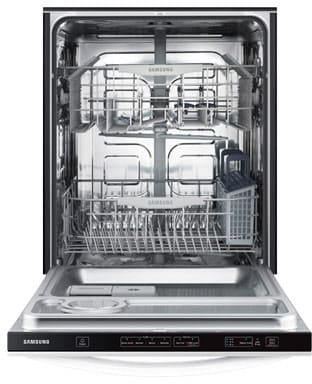 samsung dw80f600utw 24 inch fully integrated dishwasher with 15 place settings 4 cycles 2. Black Bedroom Furniture Sets. Home Design Ideas