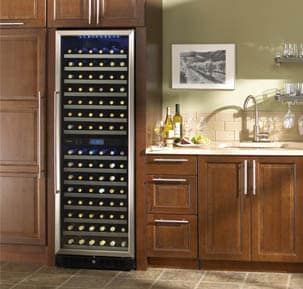 Danby Dwc166blsrh 24 Inch Built In Wine Cooler With 166