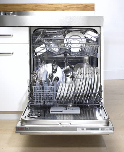 Asko D3251 Fully Integrated Dishwasher With 6 Automatic