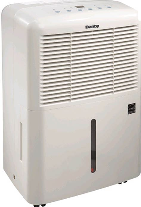 Danby Ddr3010e 30 Pint Capacity Dehumidifier With 2 Fan