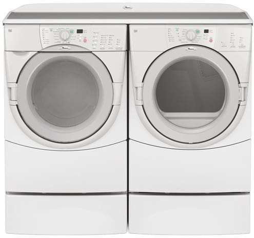 Whirlpool Ghw9400pw 27 Inch Duet Front Load Washer With 3