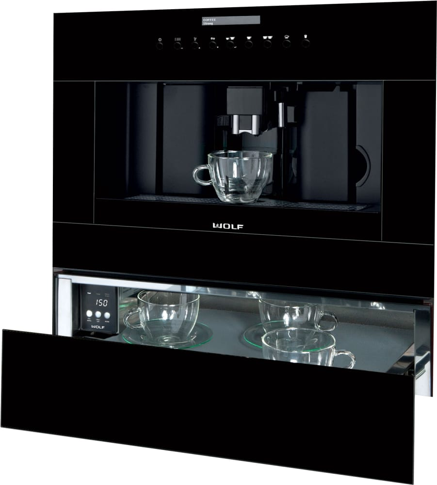 Wolf Ec24b 24 Inch Built In Coffee System With Adjustable