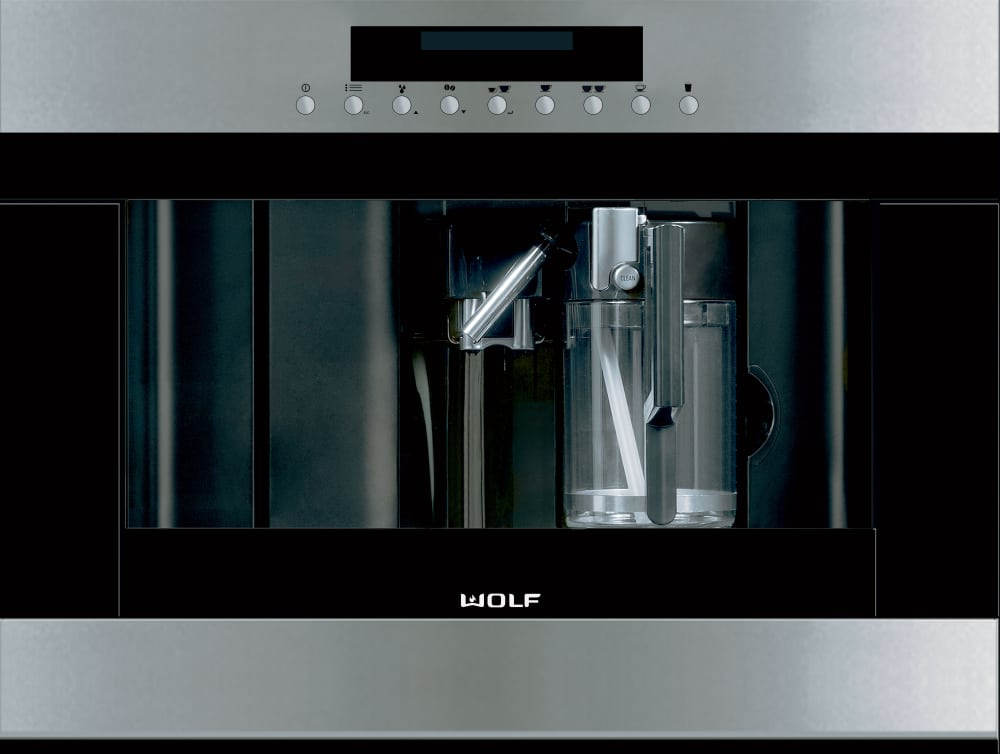 Wolf Ec24s 24 Inch Built In Coffee System With Adjustable