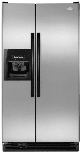 Whirlpool Ed5gvexvd 25 1 Cu Ft Side By Side Refrigerator