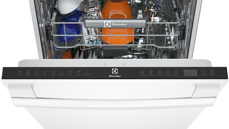Attractive ... Electrolux IQ Touch Series EI24ID30QW   White Open ...