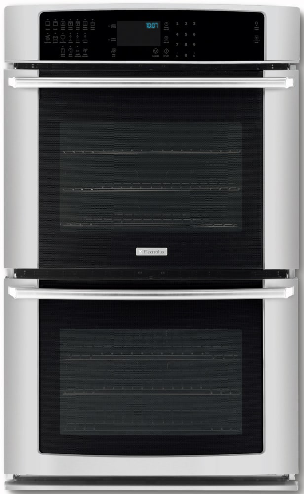 Electrolux ei27ew45js 27 inch double electric wall oven with 35 cu electrolux iq touch series ei27ew45js stainless steel planetlyrics Gallery