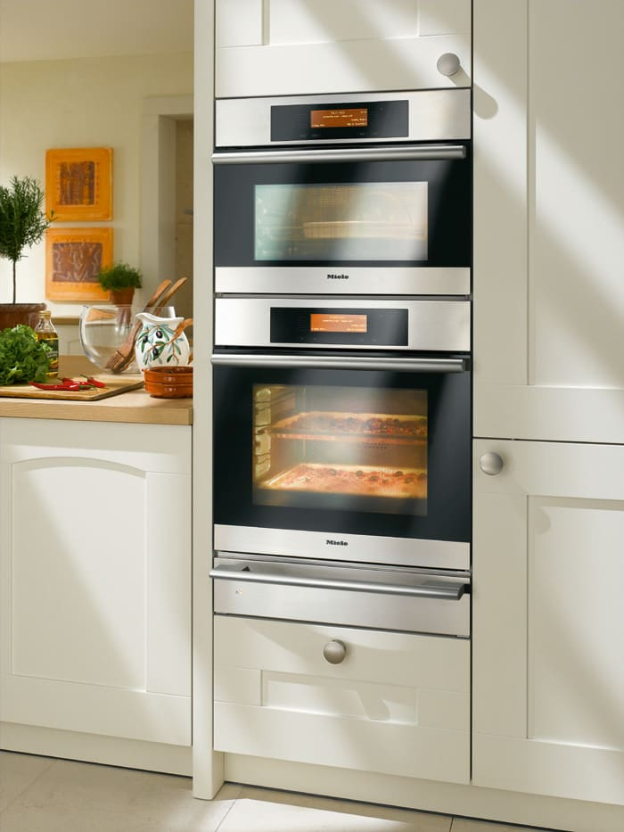 Miele Esw408214 Installed With Sd Oven And Convection Wall