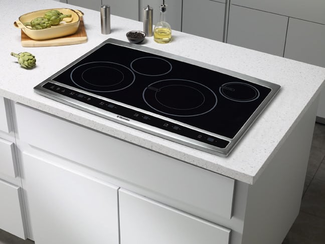 Electrolux Ew30cc55gs 30 Inch Hybrid Induction Cooktop