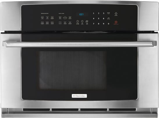 Electrolux ew30mo55hs 30 inch built in drop down door for Built in microwave ovens 30 inch