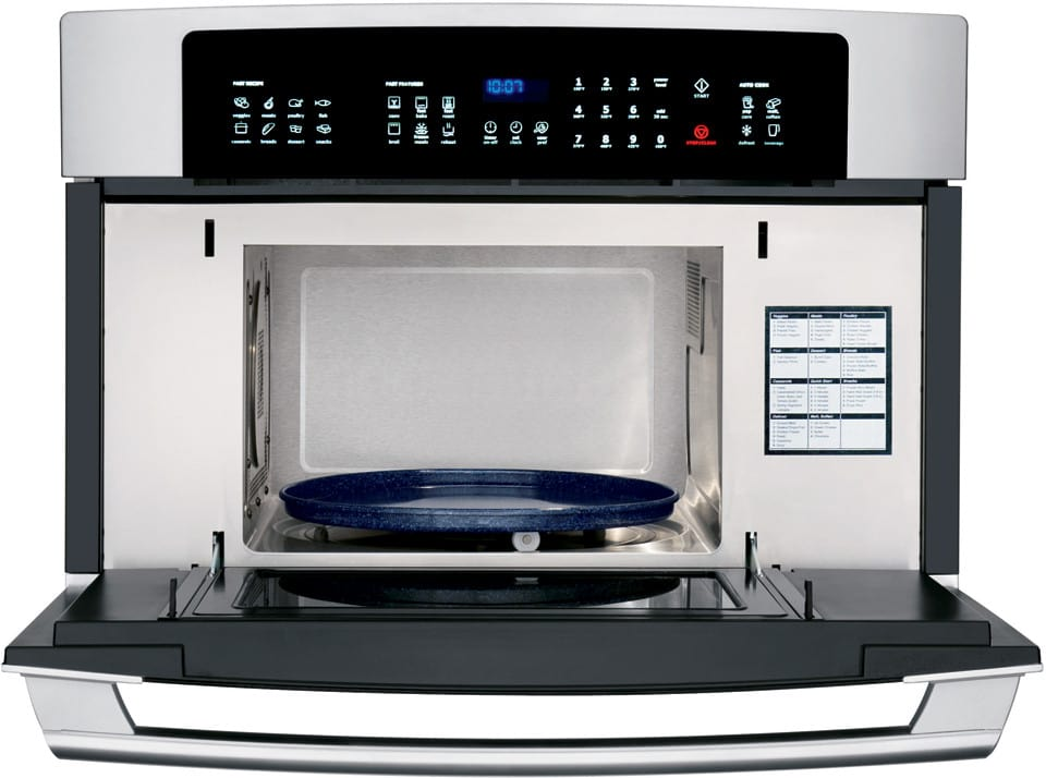Electrolux ew30so60ls 30 inch built in microwave oven with for Built in microwave ovens 30 inch