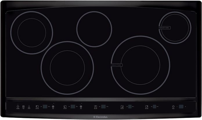 Electrolux Wave Touch Series Ew36cc55gb 36 Inch Hybrid Induction Cooktop