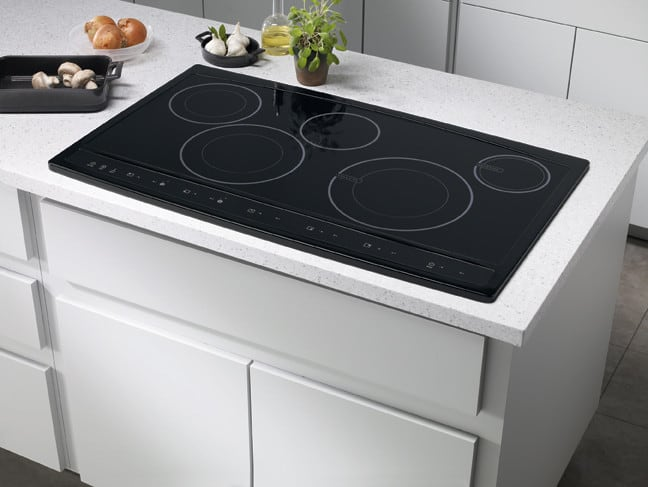 Cooktop Surface Electrolux Wave Touch Series Ew36cc55gb Kitchen View