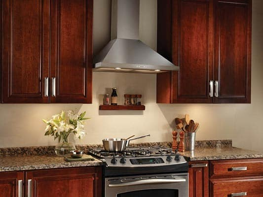 Broan Ew5830ss 30 Inch Wall Mount Chimney Range Hood With