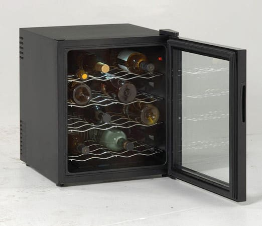 Avanti Ewc1601b 17 Inch Wine Cooler With 16 Bottle