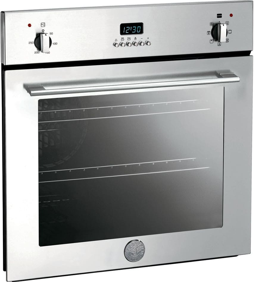 Bertazzoni F6m9px 24 Inch Electric Wall Oven With 1300w Baking Element 1000w Broiling 4 Cooking Modes Convection And Electronic Timer
