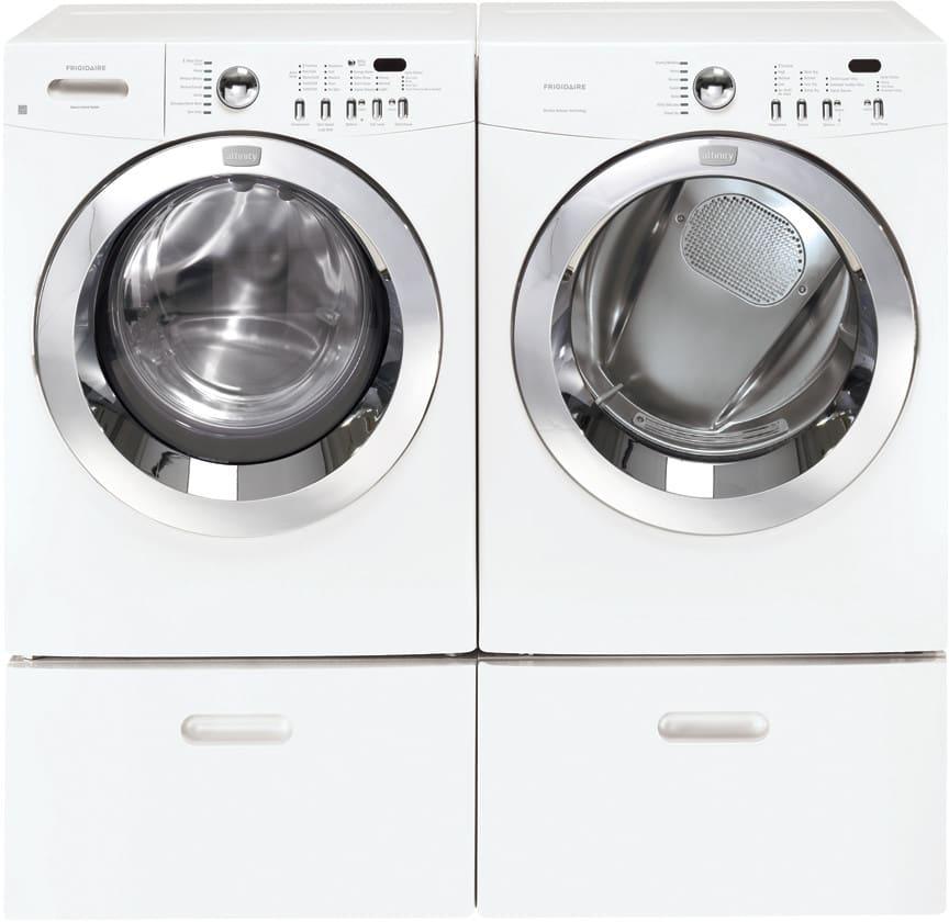 Frigidaire Faqe7077kw 27 Inch Electric Dryer With 7 0 Cu