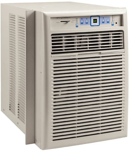 Frigidaire fak124p1v 12 000 btu slider casement room air for 12000 btu window air conditioner room size