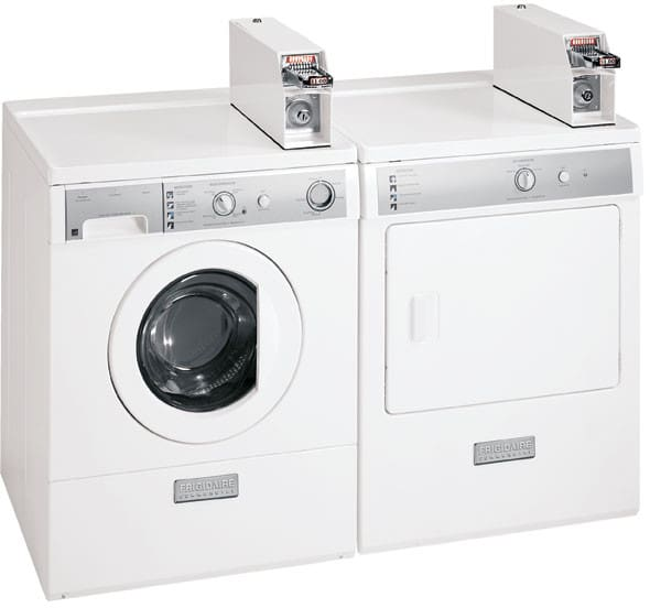 frigidaire commercial series fccw3000es featured view frigidaire commercial series fccw3000es washer dryer set