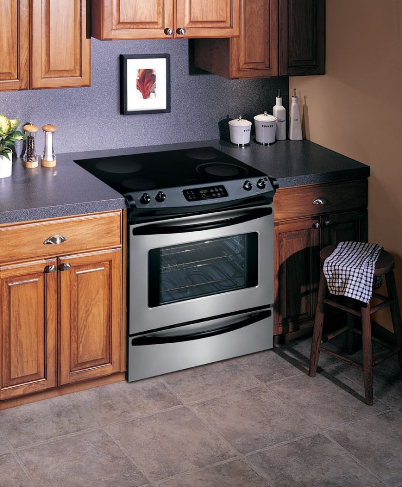 Kitchen Stove Installation Guide: Frigidaire FES365EC 30 Inch Slide-In Electric Range With 4