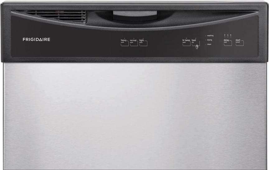 Frigidaire Ffbd2406ns Full Console Dishwasher With Ready