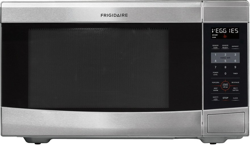 Countertop Microwave 12 Inch Depth : Frigidaire FFCE1638L 1.6 cu. ft. Countertop Microwave Oven with 1,100 ...