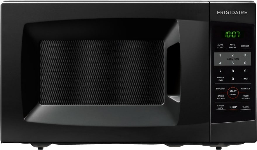 frigidaire ffcm0724l 0 7 cu  ft  countertop microwave oven with 700 cooking watts  10 power