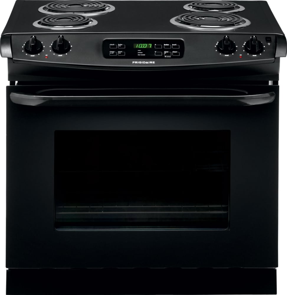 frigidaire ffed3015pb 30 inch drop in electric range with multiple broil options and ready. Black Bedroom Furniture Sets. Home Design Ideas