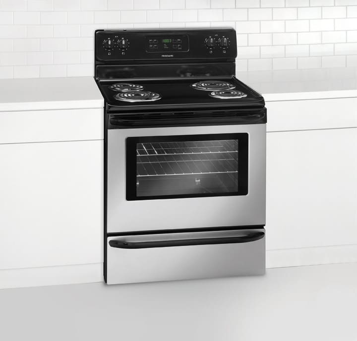 frigidaire range self cleaning oven instructions