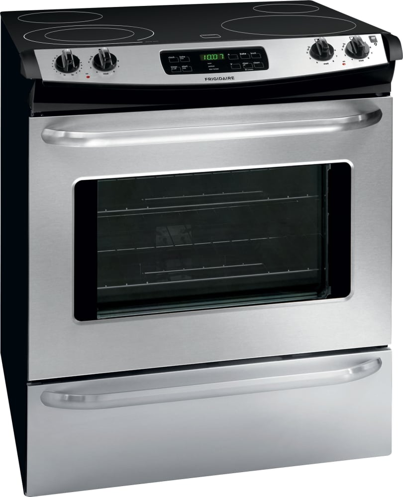 Frigidaire FFES3025PS 30 Inch Slide In Electric Range with