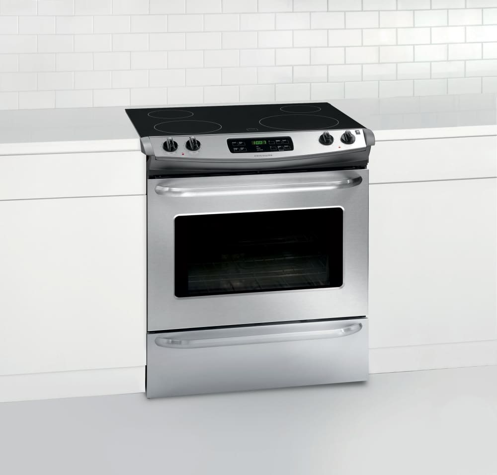 Frigidaire FFES3025PS 30 Inch Slide-In Electric Range with SpaceWise ...