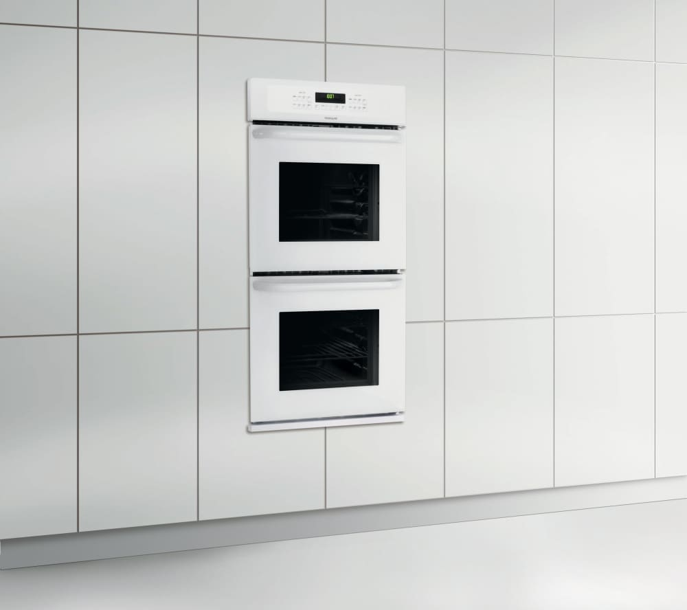 Frigidaire FFET2725PW 27 Inch Double Electric Wall Oven with 3.8 cu ...