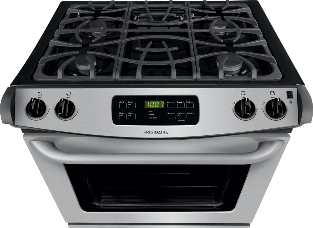Frigidaire Ffgs3025ps 30 Inch Slide In Gas Range With Multiple Broil