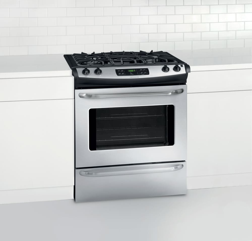 Frigidaire Ffgs3025ps 30 Inch Slide In Gas Range With