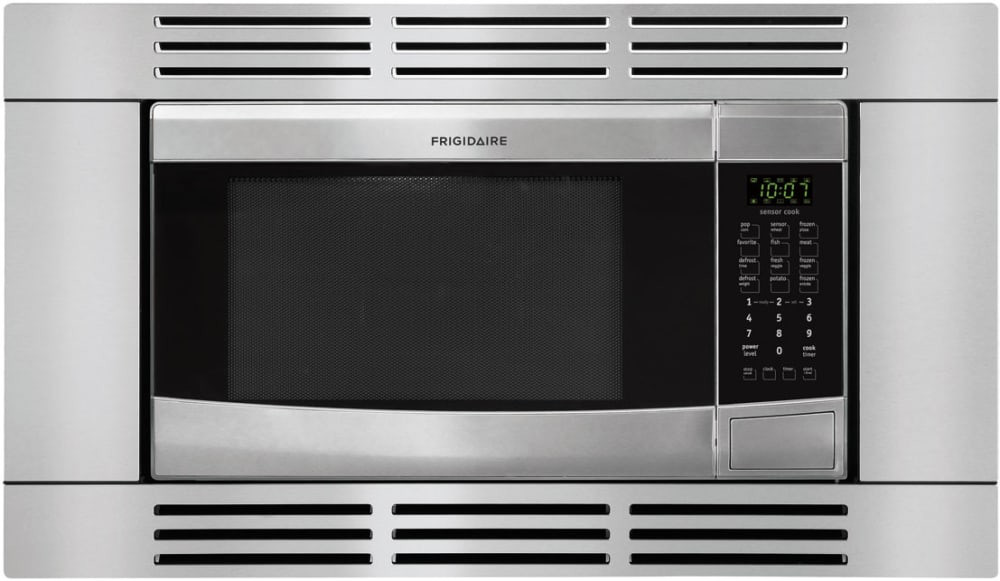Microwave Trim Kit Dimensions Sizes Frigidaire Ffmo1611ls Stainless Steel Optional Built In