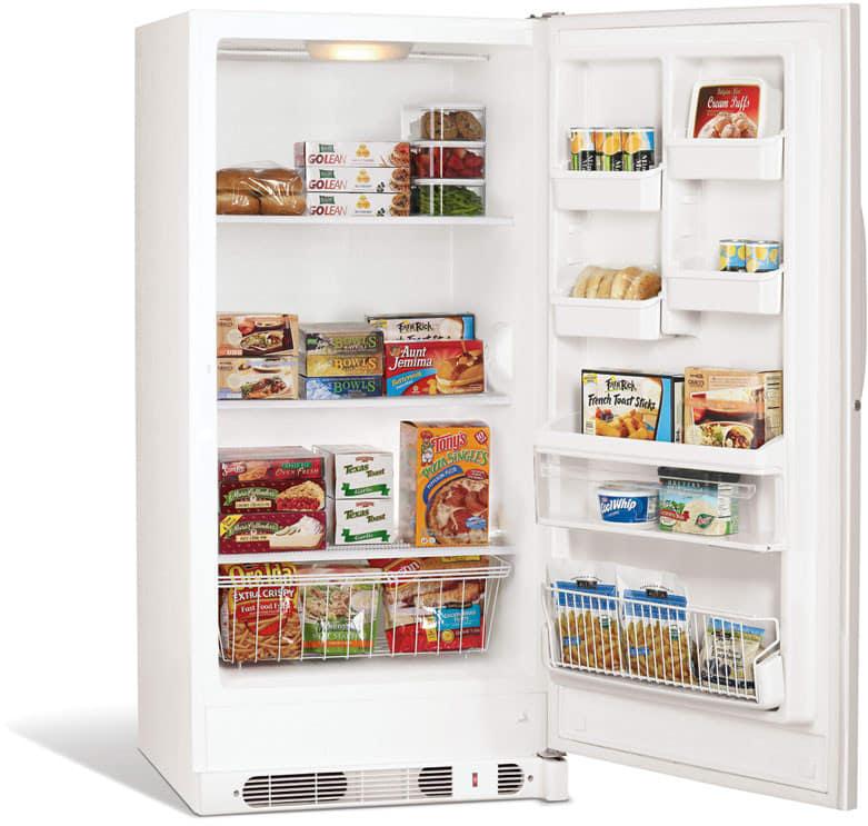 Frigidaire FFU17M7HW 17 cu. ft. Upright Freezer with 3 Full-Width ...