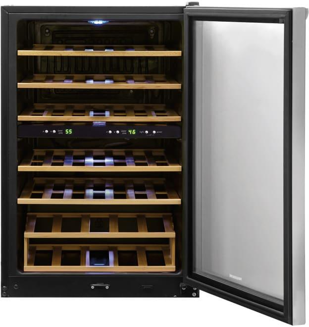 Frigidaire Ffwc38f6ls 22 Inch Freestanding Wine Cooler