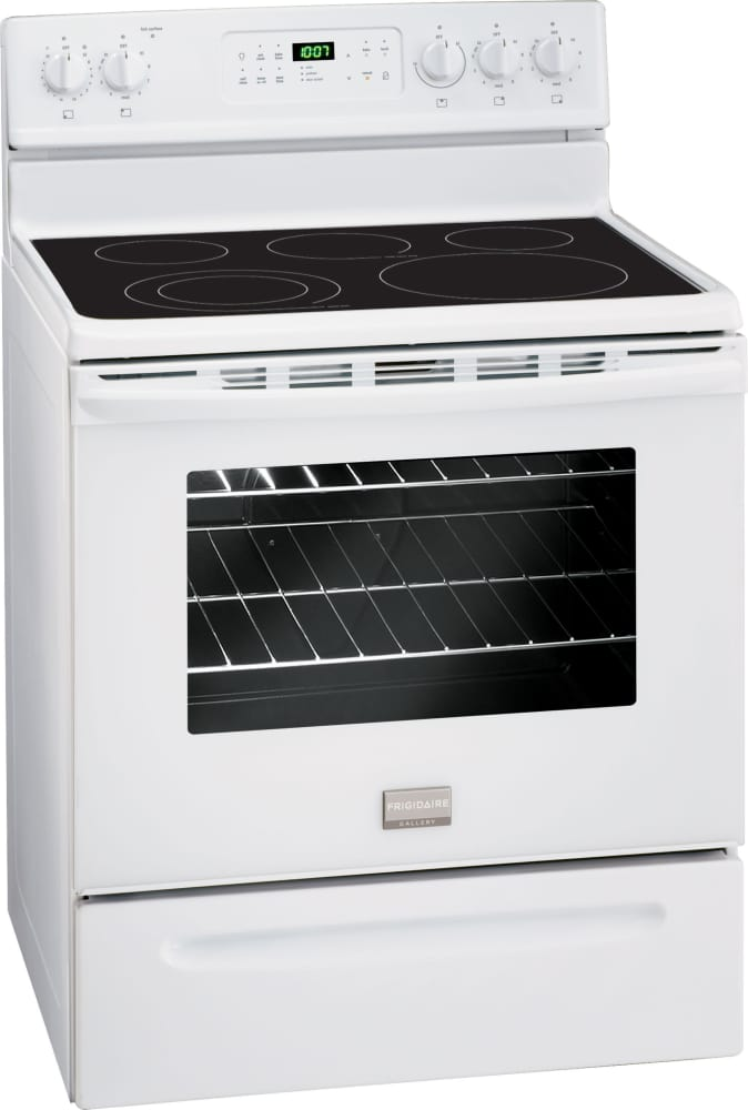 Frigidaire Fgef3030pw 30 Inch Freestanding Electric Range