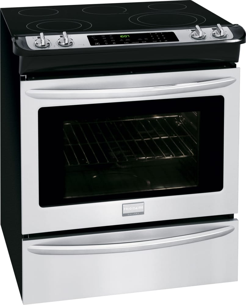 Frigidaire Gallery Series Fges3065pf Stainless Steel Angle View