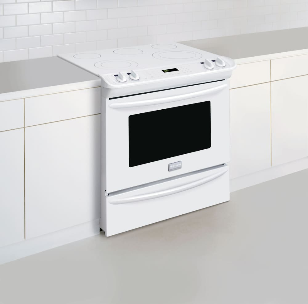 Frigidaire Fges3065pw 30 Inch Slide In Electric Range With True Wiring Diagrams Oven Gallery Series Kitchen View