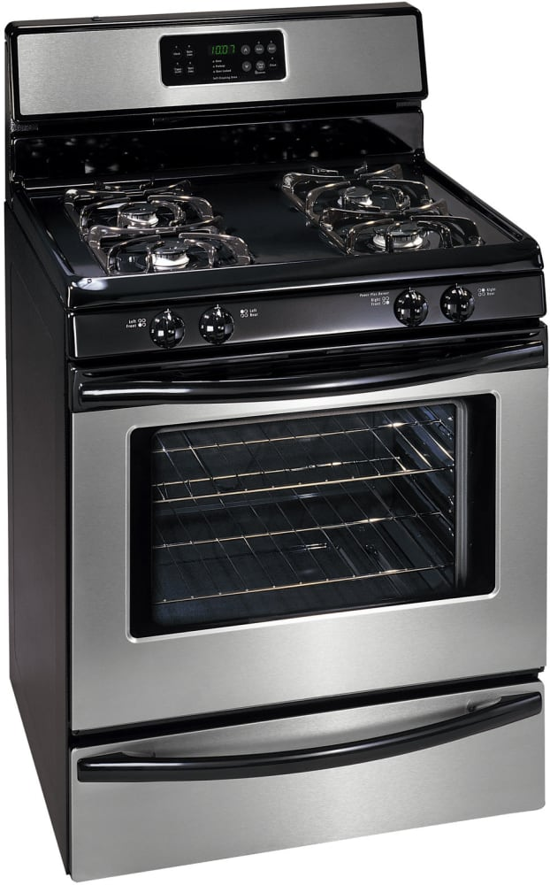 Frigidaire Fgf368gb 30 Inch Freestanding Gas Range With 4 Manual Guide