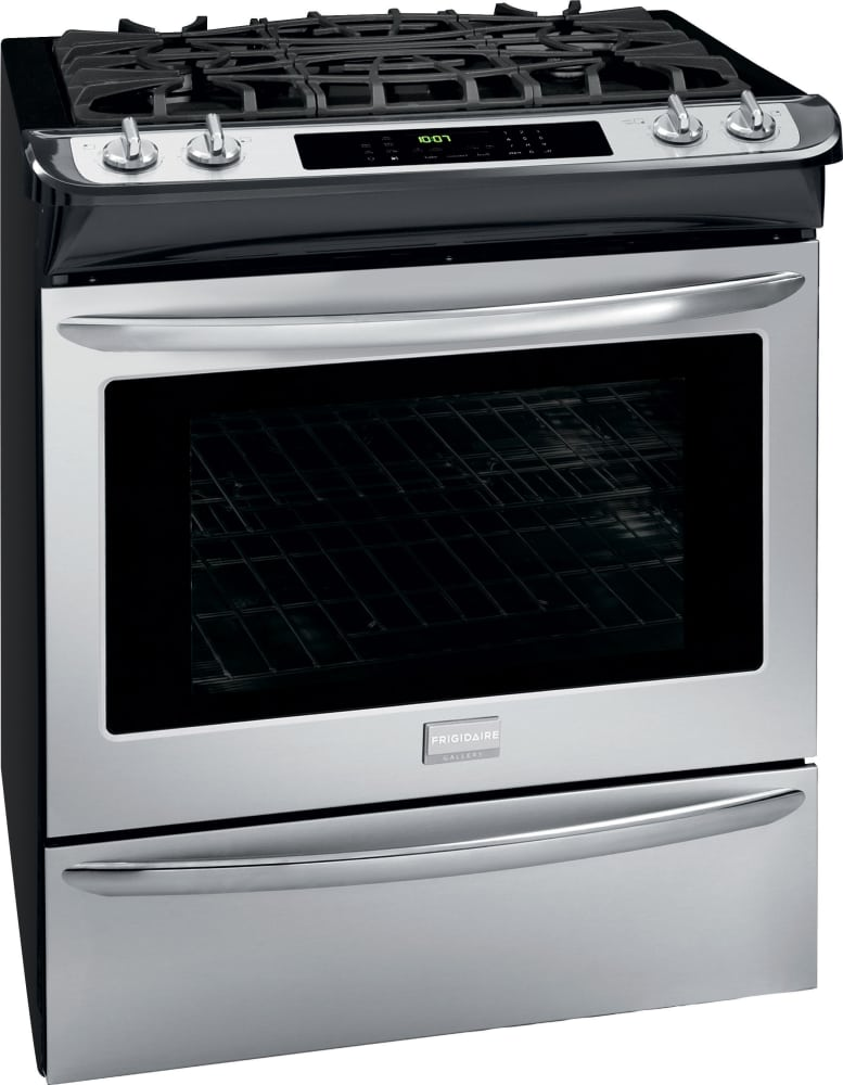 Frigidaire Gallery Series Fggs3065pf Stainless Steel Angle View