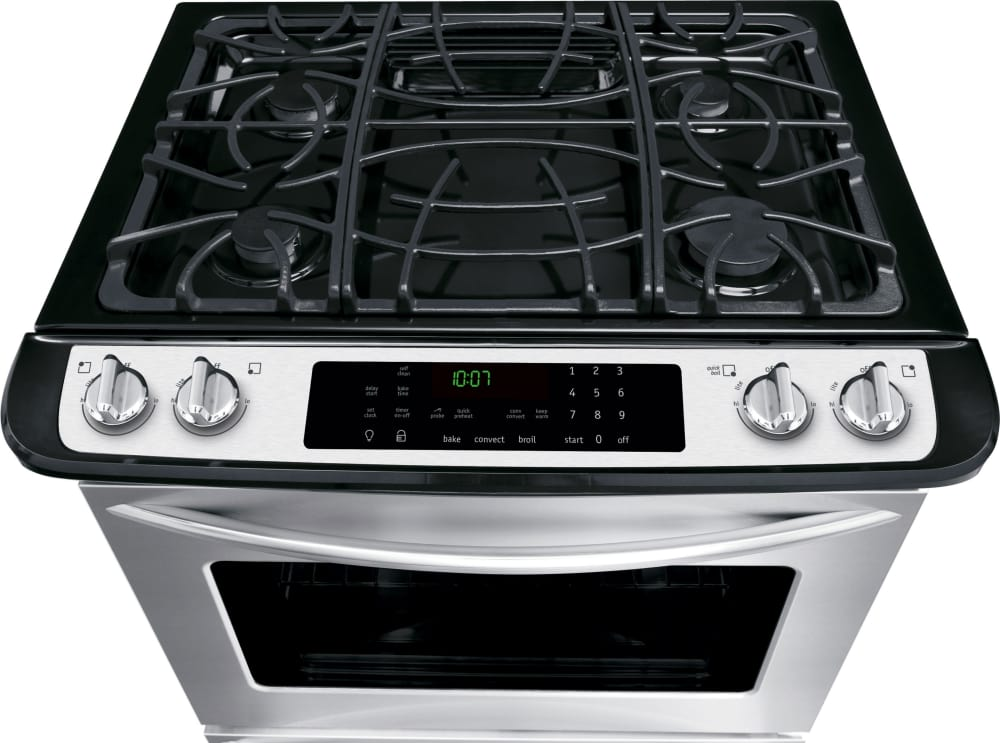 Frigidaire Fggs3065pf 30 Inch Slide In Gas Range With True