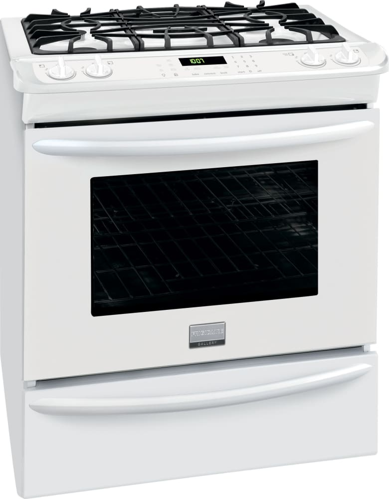 Frigidaire Fggs3065pw 30 Inch Slide In Gas Range With True
