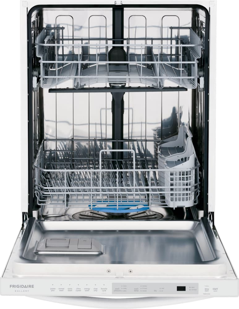 Frigidaire fgid2474qw 24 inch fully integrated dishwasher for Ajmadison