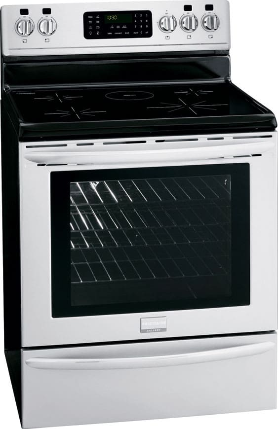 induction range frigidaire gallery series fgif3061nf angle view