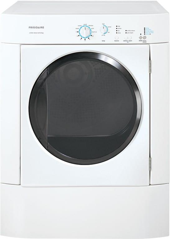 Frigidaire Frqg7000lw 27 Inch Gas Dryer With 7 0 Cu Ft
