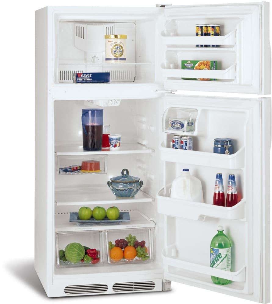 Frigidaire Frt17g4jw 16 5 Cu Ft Top Freezer Refrigerator