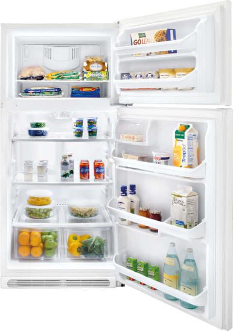 Frigidaire Frt18g2nw 18 0 Cu Ft Top Freezer Refrigerator