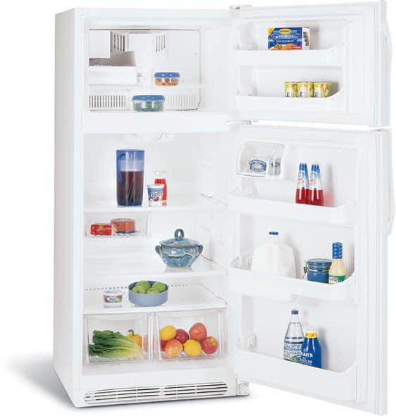 Frigidaire Frt18is6jw 18 2 Cu Ft Top Freezer