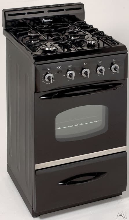 Avanti G2003css 20 Inch Freestanding Gas Range With 4